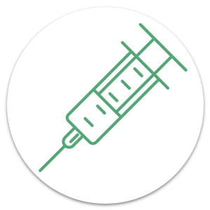 Syringe for vaccination Lifescan Medical Centre